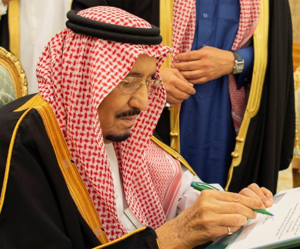The shakeup comes as the kingdom grapples with international outrage over the murder of journalist Jamal Khashoggi, a scandal that has tipped Riyadh into one of its worst international crises. (Reuters Photo)