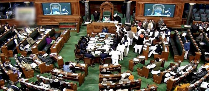 The opposition, which had been demanding that the bill be referred to a 'joint select committee', staged a walkout when its demand was rejected by the government.