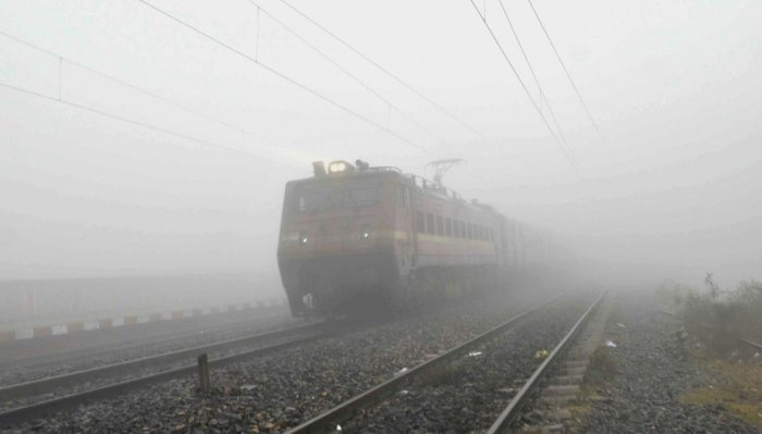 The reduced visibility due to the dense cover of fog in the area in the early hours Friday is believed to be a cause of the accident, police added. (PTI File Photo)