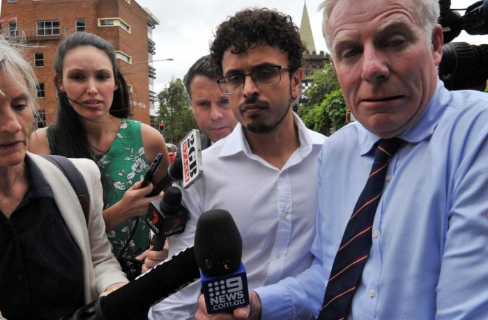 Arsalan Khawaja was released on bail in early December after appearing in a Sydney court on charges of forgery and attempting to pervert justice. (AFP File Photo)