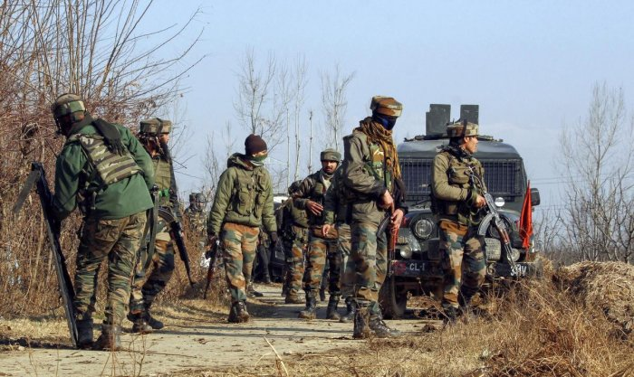 Acting on specific information about the presence of militants in Hanjan area of Pulwama in south Kashmir, security forces launched a cordon and search operation, a police official said. (PTI File Photo)