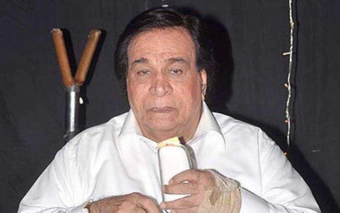Veteran actor Kader Khan