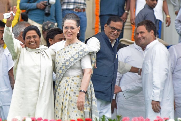 ''It seems that the SP and the BSP are interested only in taking and not in giving. For an alliance all sides should show flexibility,'' a senior state Congress leader said.
