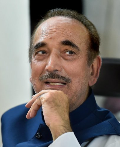 Ghulam Nabi Azad. PTI/FILE