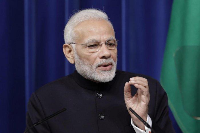Prime Minister Narendra Modi. AP/PTI (FILE)
