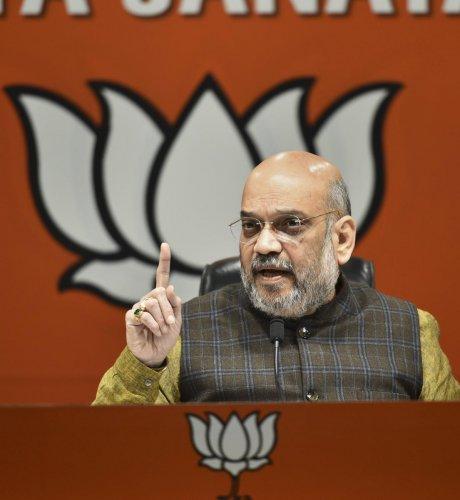 BJP National President Amit Shah. (PTI File Photo)