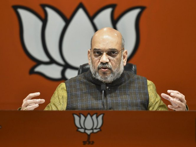 BJP president Amit Shah Wednesday made light of the opposition 'mahagathbandhan' (grand alliance), calling it an illusion and expressed confidence that the BJP will retain power after the 2019 Lok Sabha polls. PTI file photo