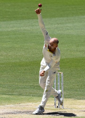 EXCEPTIONAL: With no extraordinary skills to boast about, offie Nathan Lyon has just stuck to the basics and delivered in astonishing fashion. AFP