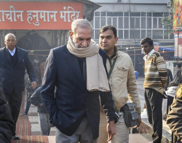 """They were convicted in the case in which 73-year-old former Congress leader Sajjan Kumar was sentenced to life for the """"remainder of his natural life"""" by the Delhi High Court on December 17. (PTI File Photo)"""