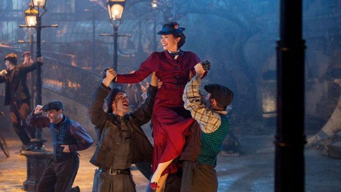 A still from Mary Poppins Returns