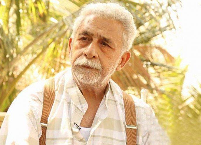 Actor NaseeruddinShah. Image courtesy Twitter