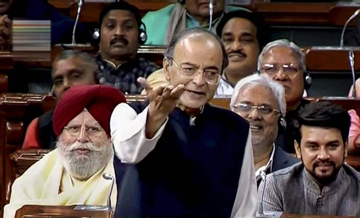 Finance Minister Arun Jaitley on Friday said Punjab National Bank (PNB) did not engage in any misappropriation of pension and gratuity funds in the past and no amount was taken from the trusts' account. PTI file photo