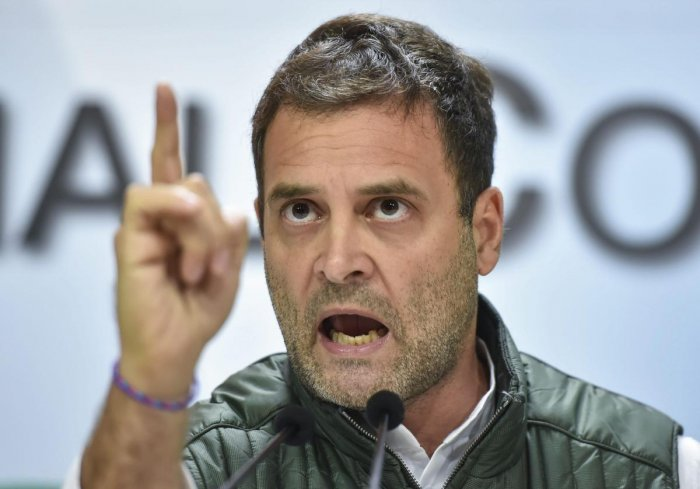 Congress President Rahul Gandhi has emerged as a stronger challenger to Prime Minister Narendra Modi after the Congress' win in the Hindi heartland last month. PTI file photo