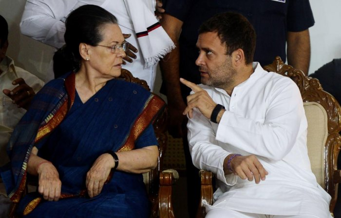 Associated Journals Ltd, controlled by Congress party chief Rahul Gandhi and Sonia Gandhi, and others, has approached the Delhi High Court's division bench against an order to vacate 'Herald House' here within two weeks. AFP file photo
