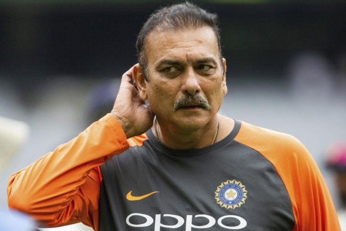 India's coach Ravi Shastri reacts at the end of day five of the third cricket test between India and Australia in Melbourne, Australia, Sunday, Dec. 30, 2018.AP/PTI