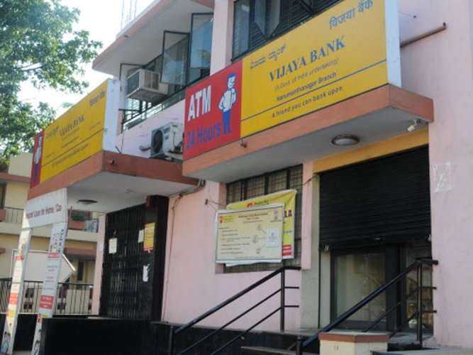 Vijaya Bank. DH file photo