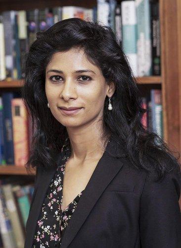 India-born economist Gita Gopinath. PTI file photo