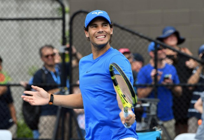 Spanish legend Rafael Nadal, who pulled out of the Brisbane International due to a thigh injury, said he was feeling better ahead of the Australian Open. AFP
