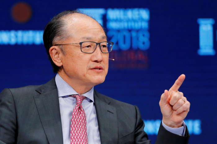 Jim Yong Kim, President of the World Bank Group. (Reuters File Photo)