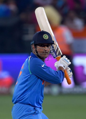 The out of form Mahendra Singh Dhoni got support from vice-captain Rohit Sharma. AFP File Photo