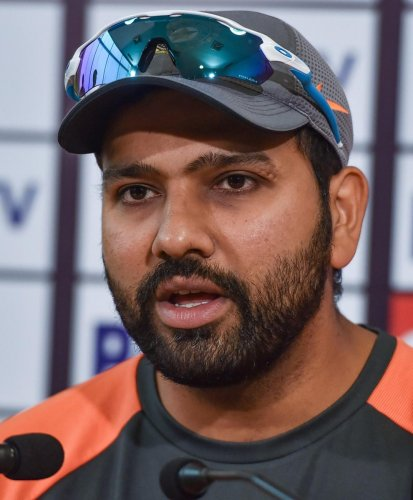 CONFIDENT: Indian vice-captain Rohit Sharma said the batting unit needs to come together if India are to win the World Cup. PTI File Photo