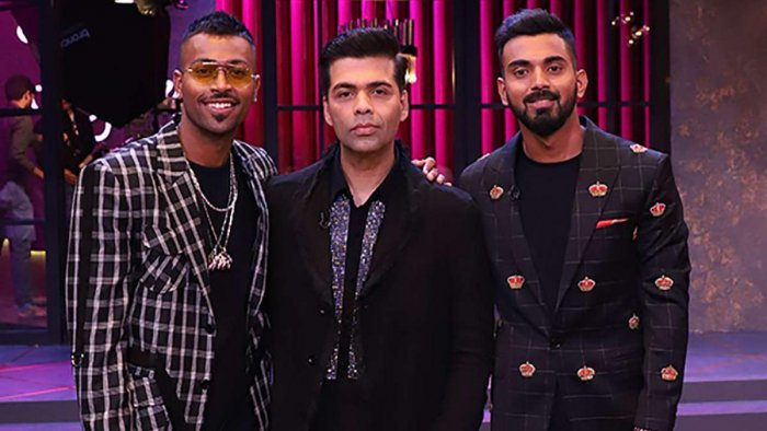 The 25-year-old all-rounder had boasted about hooking up with multiple women on the Sunday episode of the Karan Johar-hosted show.