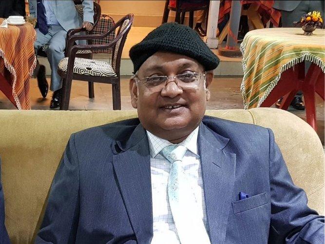 Karnataka High Court chief justice Dinesh Maheshwari. Picture courtesy Twitter
