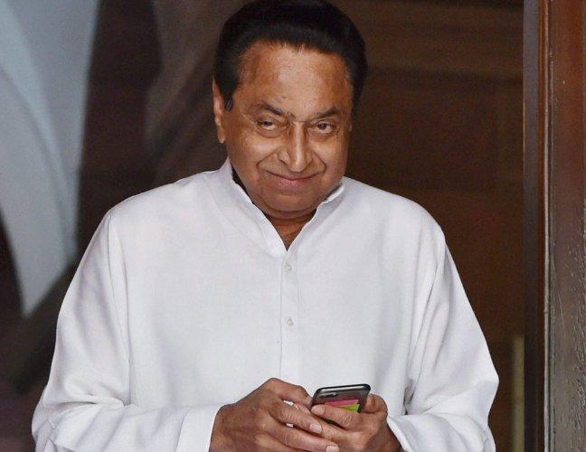 Kamal Nath. PTI file photo