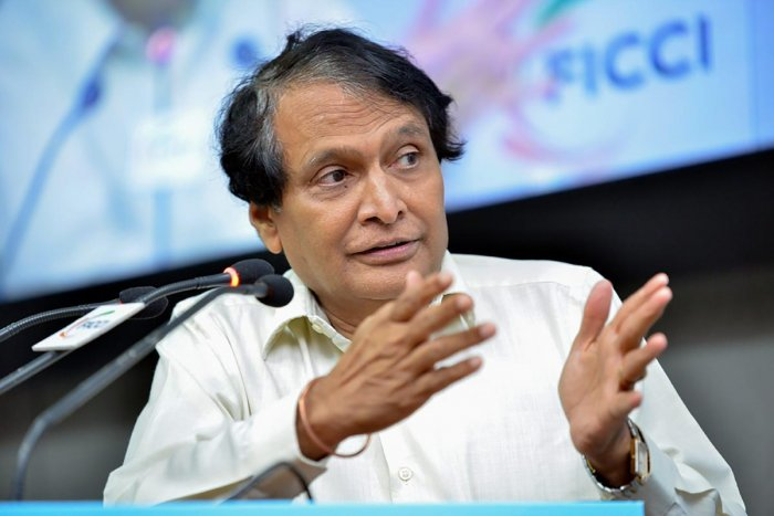 """Civil Aviation Minister Suresh Prabhu said the initiative would be """"forward-looking and futuristic"""" and would be launched soon. (PTI file photo)"""