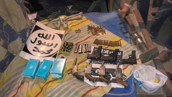 The NIA, after searches last month, had said it had seized a locally-made rocket launcher, material for suicide vests and 112 alarm clocks to be used as timers. (PTI File Photo)