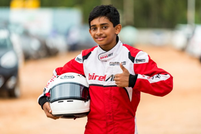 After making a mark in India, Ruhaan Alva has been parading his skills in Italy.