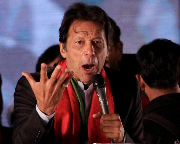 """Islamabad also alleged in the report that """"hostile agencies"""" were fuelling terrorism by funding sub-national terrorist groups in Pakistan. (Above: Pakistan PM Imran Khan. PTI file photo)"""