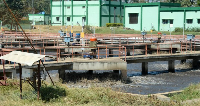 in focus: A sewage treatment plant under the KC valley project.  file photo