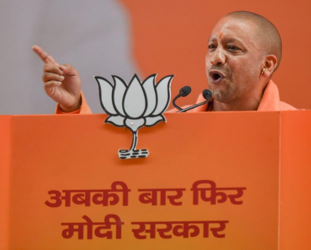 """Uttar Pradesh Chief Minister Yogi Adityanath on Sunday claimed the recently-forged alliance between the Samajwadi Party and Bahujan Samaj Party will have no impact on the politics of the state, and that the BJP will """"effectively wipe them off"""". PTI file p"""
