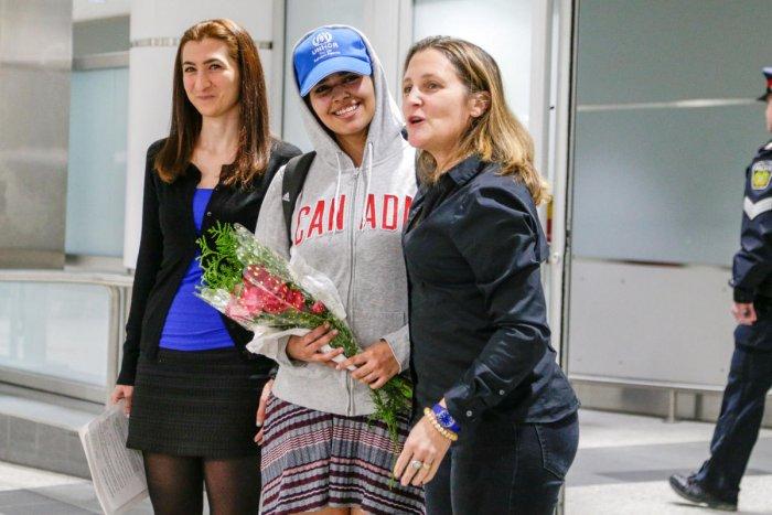 Trudeau notches win as Canada accepts Saudi refugee | Deccan