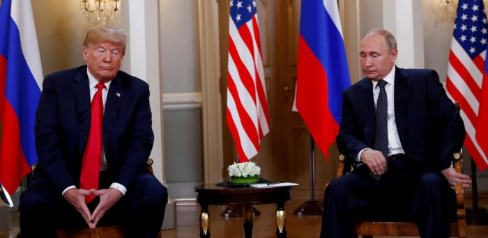 US President Donald Trump has denied reports that he did not share details of some of his meetings with his Russian counterpart Vladimir Putin, saying that he would not mind releasing those details. Reuters file photo