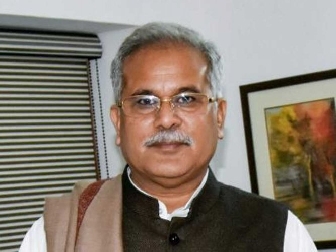 Chief Minister Bhupesh Baghel. PTI file photo