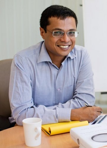 Bansal has been in talks with several startup companies to invest.
