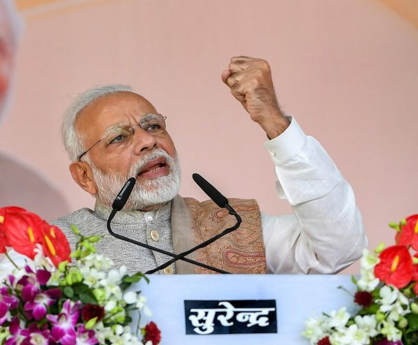 """Prime Minister Narendra Modi on Tuesday accused the past governments at the Centre of ruling like """"sultanates"""" and neglecting the country's rich heritage. PTI file photo"""