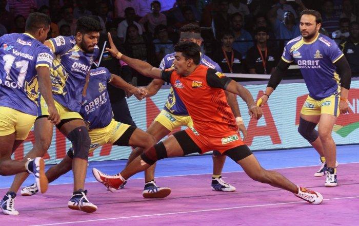 QUICK BULL Pawan Kumar Sehrawat's lightning fast raids paved the way for Bengaluru Bulls' title triumph in the PKL.