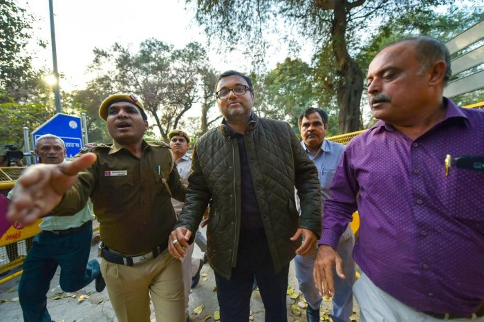 The Supreme Court on Wednesday declined an urgent hearing on a plea by Karti Chidambaram, son of senior Congress leader P Chidambaram, who is facing several criminal cases, seeking its permission to go abroad. PTI file photo