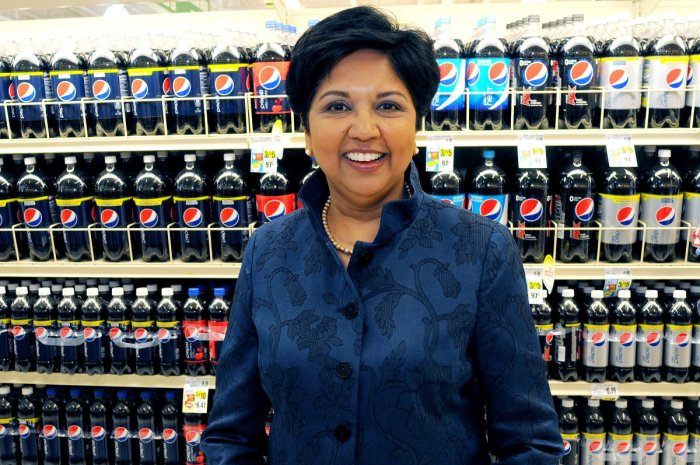 India-born Indra Nooyi, the former CEO of global beverage giant PepsiCo, is being considered by the White House for the new World Bank president, according to a leading American daily. Reuters file photo