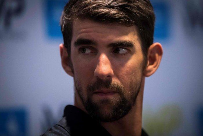 ]US swimming champion Michael Phelps (AFP PHOTO)