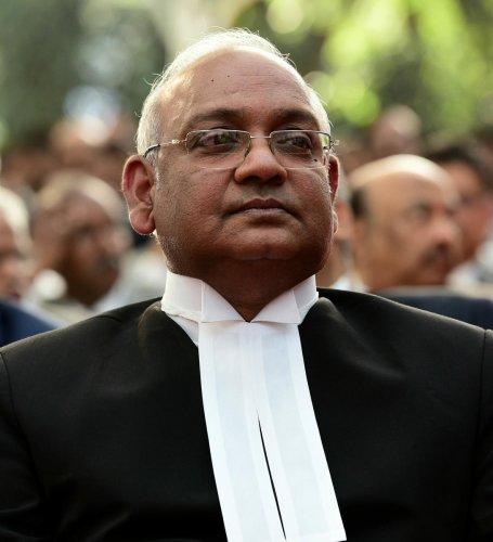 Chief Justice of the Karnataka High Court Dinesh Maheshwari. DH photo.