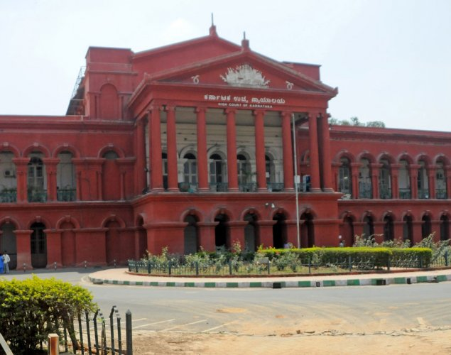 A division bench headed by Acting Chief Justice L Narayana Swamy was hearing a petition filed by B Adinarayana, a resident of Vijayanagar, who has moved the court seeking directions to remove the eight persons appointed as parliamentary secretaries. (DH File Photo)