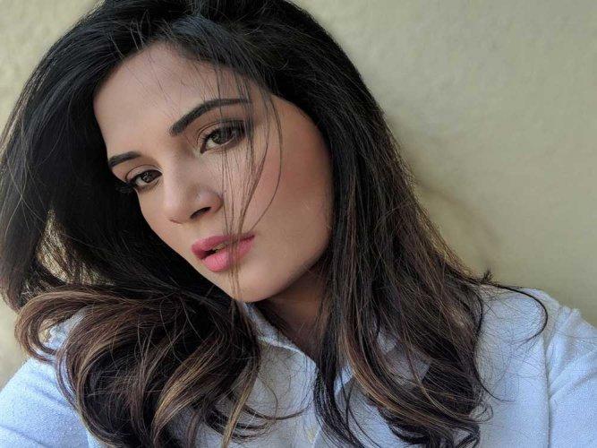 Actor Richa Chadha. (Image courtesy Twitter)