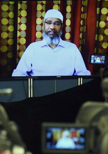The ED has attached fresh assets worth Rs 16.40 crore in connection with its money-laundering probe against controversial Islamic preacher Zakir Naik, it said on Saturday. PTI file photo