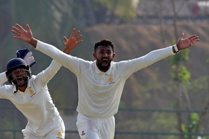 In fine touch Shreyas Gopal is the leading wicket taker for Karnataka in the Ranji Trophy this season. dh Photo/ SK Dinesh