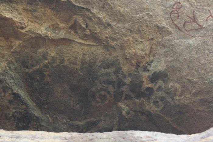 Aihole, rock art, Srikumar M Menon