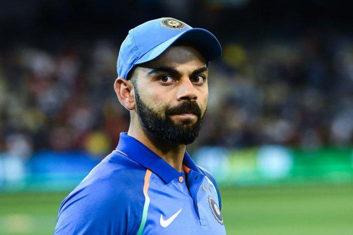 India's captain Virat Kohli. (AFP Photo)